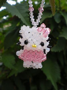 Hello Kitty by Beadwork by Sian, via Flickr. maybe I can learn how to for my little girl