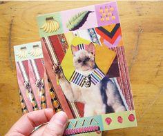 Cat King Sticker by ultraterrestrial on Etsy, $1.00