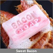 Feel greasy after eating nothing but bacon? With some bacon. Bacon Soap, Minions, Japanese Hot Springs, Bacon Funny, Good Enough To Eat, Cravings, Tasty, Cooking, Sweet