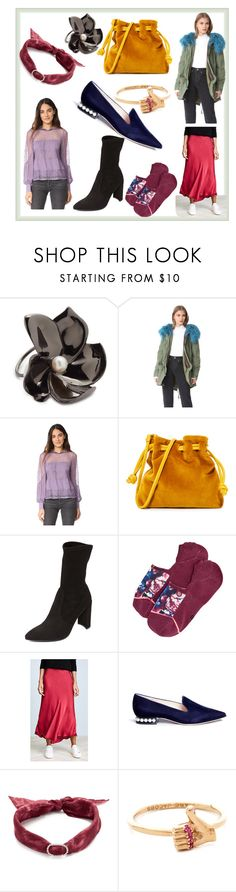 """""""Nanette Lepore"""" by anamarry ❤ liked on Polyvore featuring Elizabeth and James, Mr & Mrs Italy, Nanette Lepore, Clare V., Stuart Weitzman, Stance, Velvet, Nicholas Kirkwood, DANNIJO and Marc Jacobs"""