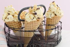 Treat the family to a big scoop of this easy-to-make ice-cream on a hot summer's day.