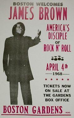 James Brown Poster | James Brown Chicago Concert