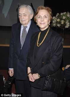Battle: Imperial Highness Prince Sultan Ertugrul Osman V (who is now dceased) with his wife, Princess Zeyneb attend Ahmet Ertegun Memorial Service on March 2, 2007 in New York City