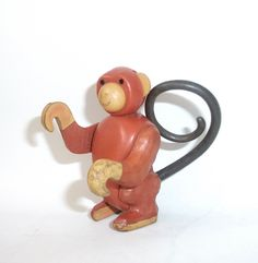 Vintage Fisher Price Monkey #683 and #699 Animal Pals Little People Toy Animal Circus by RetroClassics on Etsy
