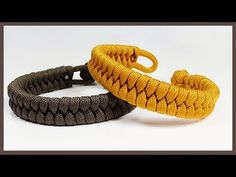 """Single Strand """"Rastaclat Style Fishtail"""" Paracord Bracelet With Loop And Knot Closure Paracord Tutorial, Paracord Knots, Macrame Tutorial, Paracord Bracelets, Bracelet Tutorial, Christmas Crochet Patterns, Macrame Design, Bracelet Crafts, Micro Macrame"""