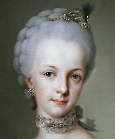 Archduchess Maria Josepha of Austria... sister of Marie Antoinette.