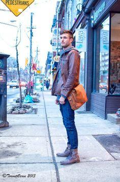Shoulder Bag for him