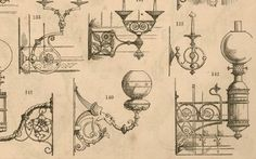 Art metalwork. Candle brackets, p101 In: Hart, Son, Peard & Co: October 1877 catalogue. From: HHT Digital Trade Catalogues Collection.