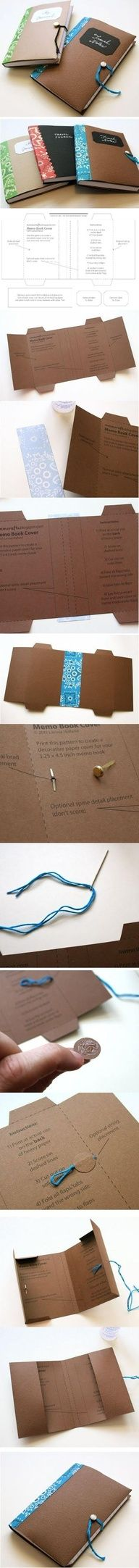 cardboard notebook cover
