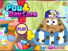Pou Games - Pou Day Care