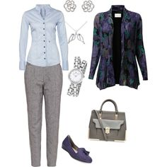 A fashion look from November 2014 featuring EAST cardigans, Seidensticker blouses and Sugarhill Boutique pants. Browse and shop related looks.