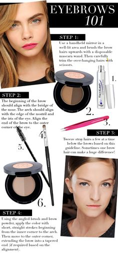 contributing glitter guide beauty post: our guide to the perfect eyebrows