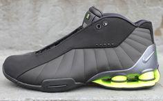 Nike Shox BB4 - Black / Volt   KicksOnFire