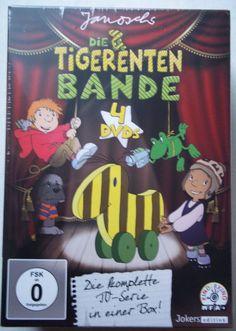 Die Tigerenten Bande 1 – 4 – Janosch – Komplette TV Serie – 4 DVD