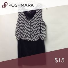 Bongo Dress Black & White BONGO Dresses