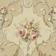 Vintage Wallpaper Elegance per meter