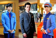 """Meet the Hotel Staff Of """"Hotel King"""" through the New Character Stills! Hotel King, Hotel Staff, Lee Dong Wook, Korean Drama, Kdrama, Tv Shows, Suit Jacket, Mens Fashion, Kpop"""