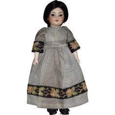 Simon & Halbig German Bisque Character Head Asian Oriental Doll from joan-lynetteantiquedolls on Ruby Lane