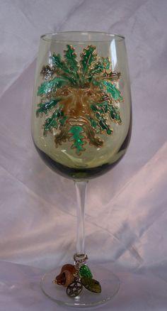 Greenman Crystal  Altar Chalice by Eliora  http://etsy.me/11iLdkU via @Etsy