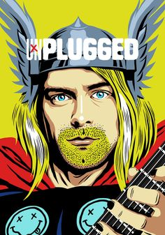 Unplugged (Kurt Cobain as Thor).