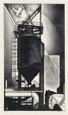 Louis Lozowick - Tanks #1 (1929)
