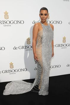 Kim Kardashian in Lanyu Couture at #Cannes