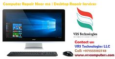VRS Technologies offers Low-cost affordable Computer Repair and Desktop Repair Services in Dubai. We will fix Computers and Laptops. Blue screens, Viruses, and Replacement Screens al repaired. Call us at @+971555182748.
