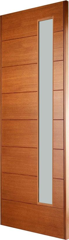 STUTTGART (LEFT HAND) - Part of our new contemporary Oak front door range, this door has been designed for modern living.