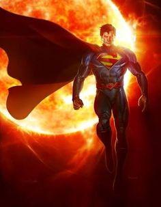 Resultado de imagem para superman artwork
