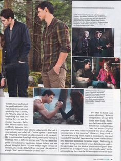 Breaking Dawn Part 2 Entertainment mag!