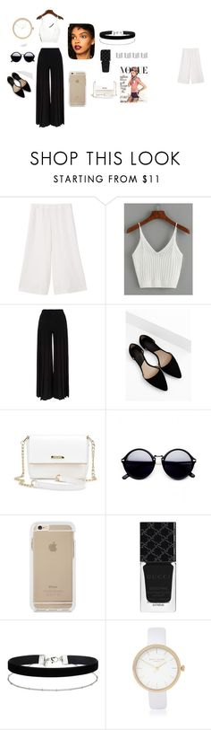 """""""fation"""" by chisomnatalie on Polyvore featuring MANGO, Marco de Vincenzo, Gucci, Miss Selfridge, River Island and Maison Margiela"""