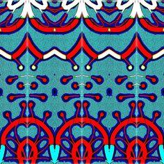 #tiledesign #textileartist #coordinate #decor #interiordesign #interiorresources #inquire #freelancer #lease #digitalfiles #handdrawn #fashion #aqua #aquamarineblue #white #navyblue #red by alice_c_kelly