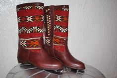 hand made boots by Leatherfinerwork on Etsy, $179.00
