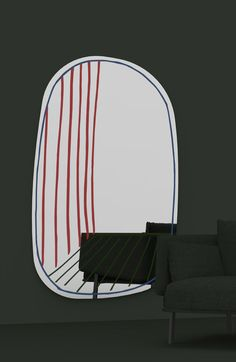 Best of the Milan Furniture Fair 2016: New Perspective Mirror, Alain Gilles (Bonaldo)