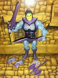 MOTUC Masters of The Universe Classics Ba Skeletor Complete w Weapons Bonus | eBay