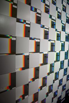 LAb[au]'s m0za1que a kinetic light art installation