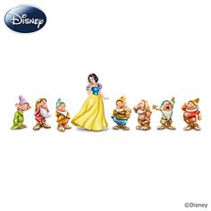 Snow White And The Seven Dwarfs Figurine Collection