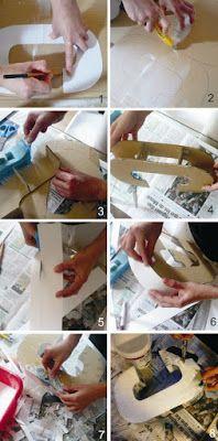 PAP - Como fazer letras decorativas - * Decoração e Invenção *