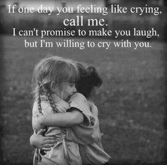 Se um dia você precise chorar, mim life, talvez não te consiga fazer rir mas eu posso chorar contigo...