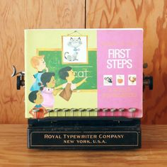 Vintage First Steps Spelling Activity Work Book by bostonbaglady