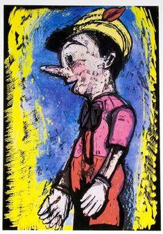 Pinocchio, 2008 - Jim Dine