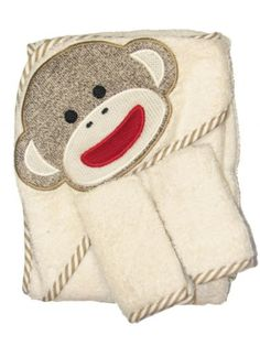 Sock Monkey Hooded Towel and 2 Washcloth Set by Baby Starters - Off-White - Not Applicable Baby Starters,http://www.amazon.com/dp/B00BTI95BM/ref=cm_sw_r_pi_dp_Zxx.rb197N9ANKSX