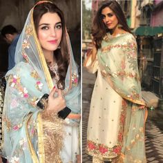 Love this outfit! Pakistani Casual Wear, Pakistani Wedding Outfits, Pakistani Dress Design, Indian Fashion Trends, Ethnic Fashion, Punjabi Fashion, Indian Dresses, Indian Outfits, Party Kleidung