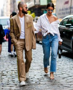 Idea and inspiration street style trend 2017 Image Description js-and-alice-j … – Fashion Trends 2019 Fashion Couple, Look Fashion, Daily Fashion, Trendy Fashion, Fashion Trends, Fashion Weeks, Street Fashion, Street Style Trends, Men Street