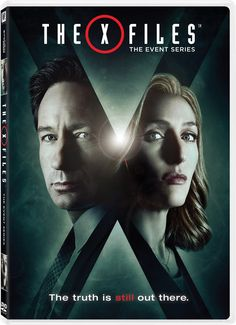 We've seen the future, and the future looks just like this poster. Exclusive new X-Files key art finds agents Fox Mulder (David Duchovny) and Dana Scully (Gillian Anderson) back in their signature FBI-approved threads, framed in the letter that gave its David Duchovny, The X Files, Movies And Series, Movies And Tv Shows, Tv Series, Film Serie, Dana Scully, Gillian Anderson, Cinema