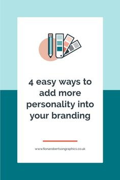If you're worried your brand is a bit too vanilla, or boring, check out these 4 easy ways to add more personality into your branding. #branding #brandingdesign #branddesign #brandstrategy #smallbusinessbranding #solopreneurbranding #smallbusinesstips #brandingtips Small Business Marketing, Business Branding, Business Design, Business Tips, Blog Design, Web Design, Bright Eyeshadow, Can You Be, Brand Packaging