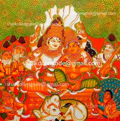 Are you interested in my Kerala mural paintings?  Please contact me immediately then I will send my painting samples to your email or whatsApp.  Email: shajikollengode@gmail.com Mobile: +919496340648, +918129335435