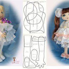 "Панна Doll,я ""КУКОЛЬНЫЙ МАСТЕР"" — ВЫКРОЙКИ разных КУКОЛок | OK.RU"