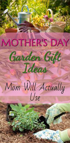 Gift Ideas For Gardening Moms | ☀︎Vegetable Garden Inspiration ...