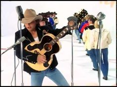 """▶ Dwight Yoakam - """"Crazy Little Thing Called Love"""" ~~ Love this guy!! makes me want to put on my cowboy boots and dance..."""
